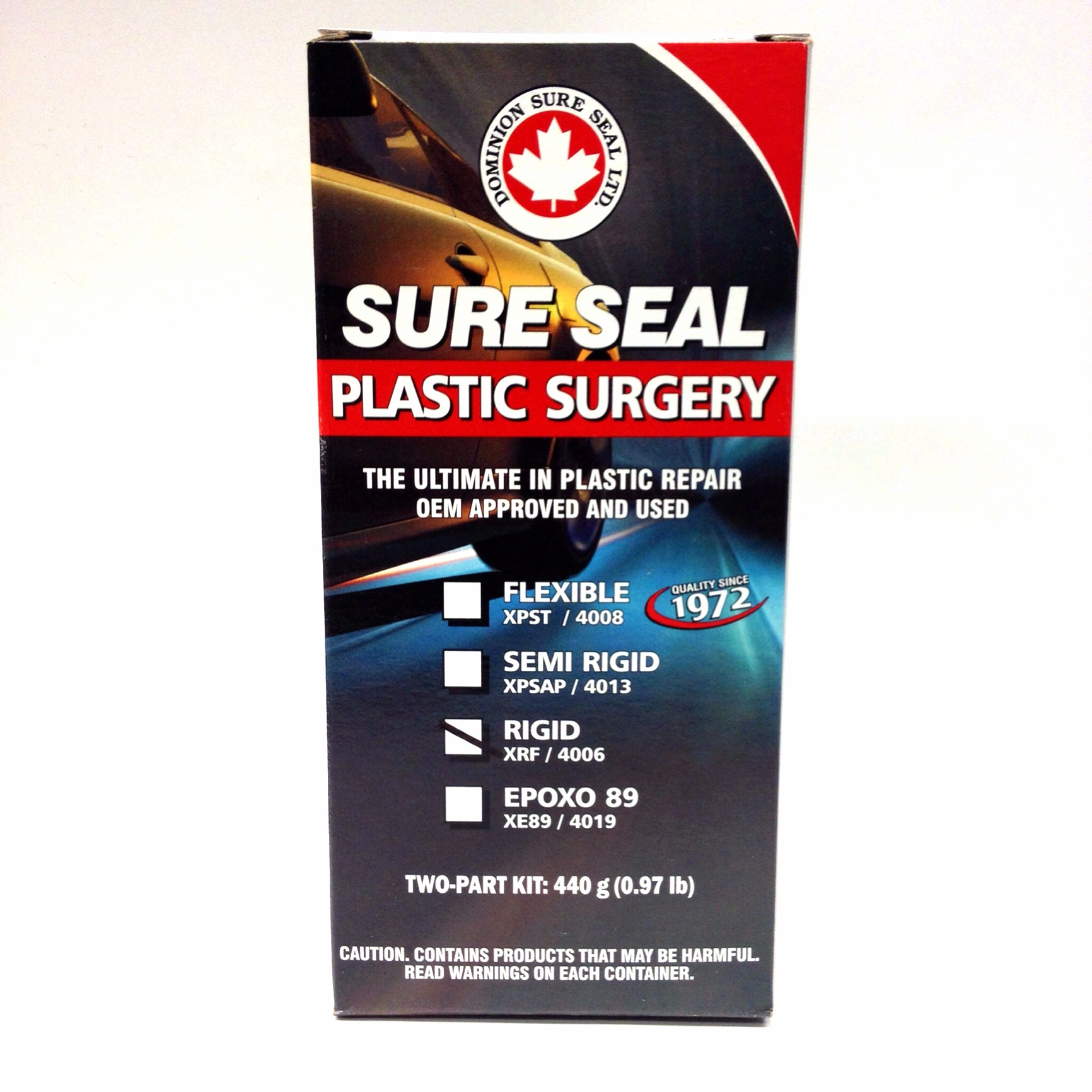Dominion Sure Seal XPSAP Plastic Surgery - Epoxy Adhesive Filler  (Semi-Rigid) - FREE SHIPPING -
