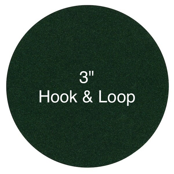 3 Inch Sanding Discs - Hook & Loop Attachment