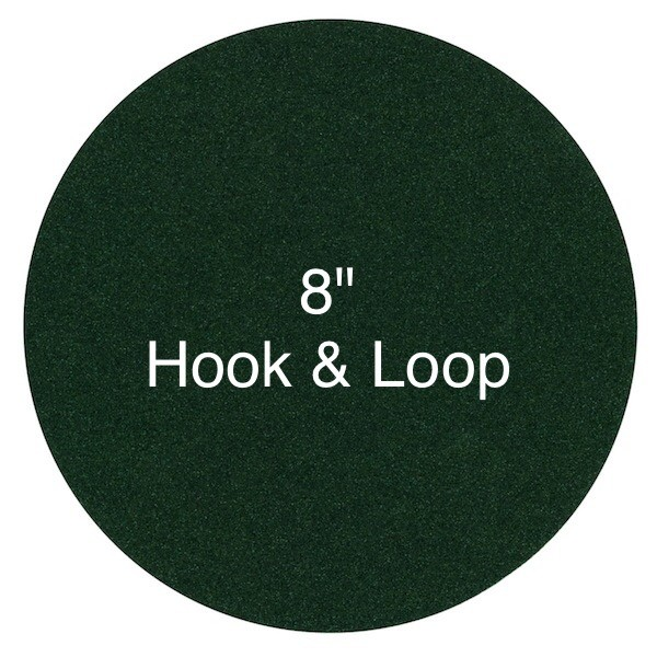 8 Inch Sanding Discs - Hook & Loop Attachment