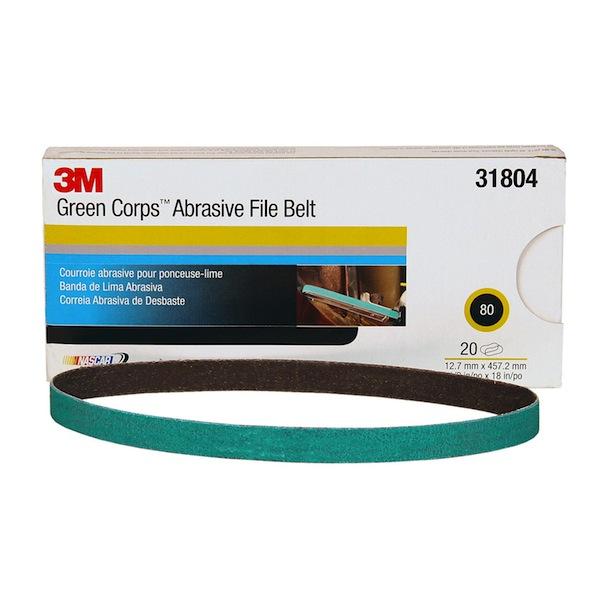 33443 36+ 3M™ Cubitron™ II File Belt 1//2 in x 18 in 12.7 mm x 457.2 mm