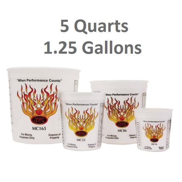 5 Quart (1.25 Gallons)