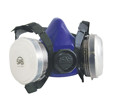 SAS Safety 8661-93 Bandit Disposable Dual Cartridge Respirator