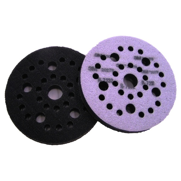 Hook And Loop Sandpaper >> 3M 05777 - Hookit (Hook & Loop) Soft Interface Pad, 6 inch (1 Pad) - FREE SHIPPING!